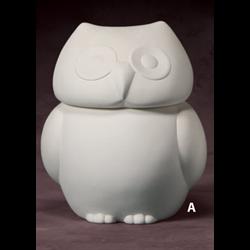 Owl Cookie Jar (Set Of 2 Casting Molds) SPO