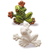 TILES, ETC. TREE FROG PLAQUE /12 SPO