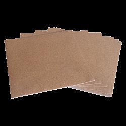"Self-Adhesive Cork Backing - 6"" Square/12 SPO"