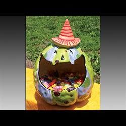SEASONAL Pumpkin Candy Dish/1 SPO