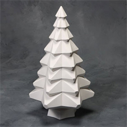 "14"" Faceted Tree (Casting Mold) Set SPO"