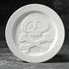 PLATES Skater Skull Plate/6 SPO